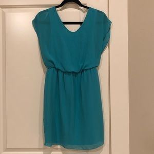 SWEET STORM Women's Teal Dress 👗 Size Small